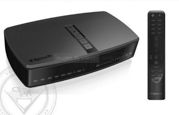 Klipsch Reference Premiere HD Wireless Hub 1 és távvezérlő