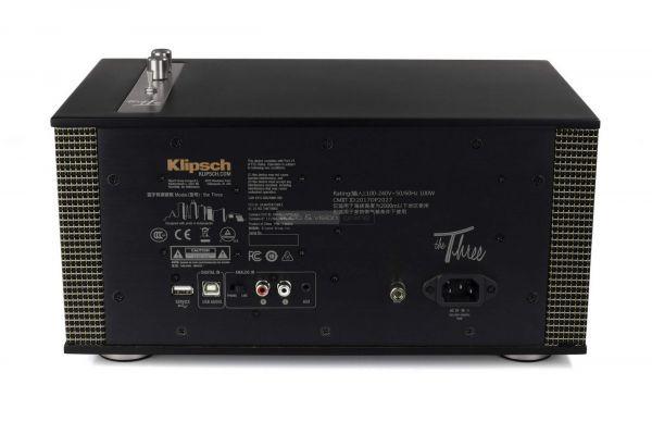 Klipsch The Three II Bluetooth hangszóró hátlap