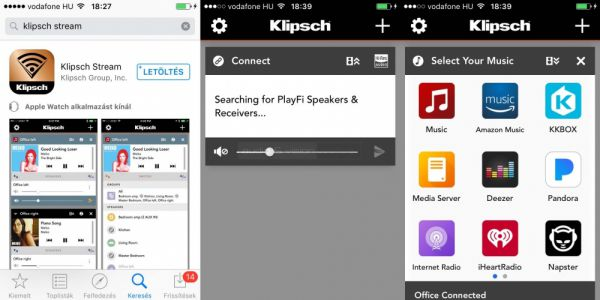 Klipsch The Three App