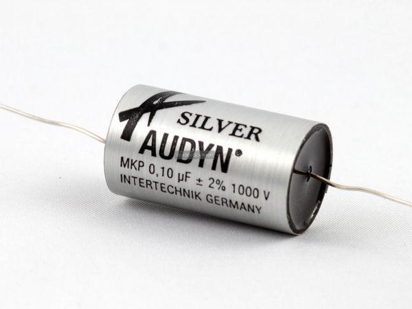 Intertechnik ATS 010-1000 ezüst audyn konenzátor