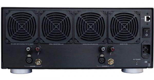 Krell Duo 300 XD sztereó végerősítő hátlap