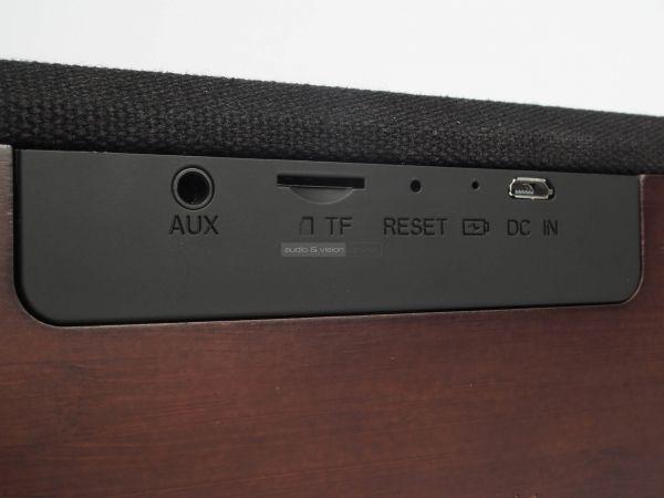 LAMAX Soul1 Bluetooth hangszóró hátlap
