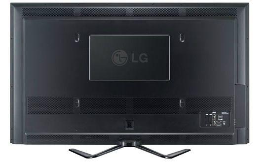 LG 50PM6800 3D plazma TV hátlap