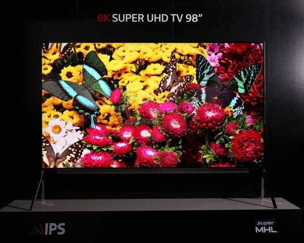 LG Super UHD TV CES 2016