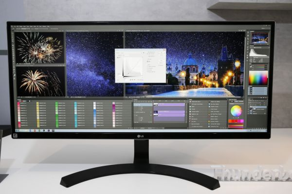 LG monitor CES 2016
