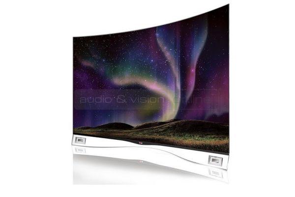 LG hajlított OLED TV
