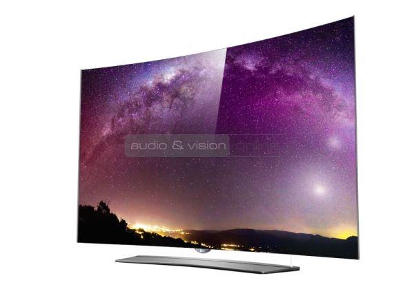LG C6 4K HDR ívelt OLED TV