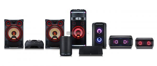 LG XBOOM Bluetooth hangszórók
