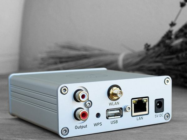 Lindemann Limetree NETWORK hálózati zenelejátszó hátlap