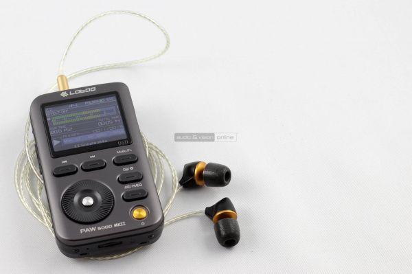 Lotoo PAW 5000 MkII mobil zenelejátszó és ENIGMAcoustics Dharma D200 fülhallgató