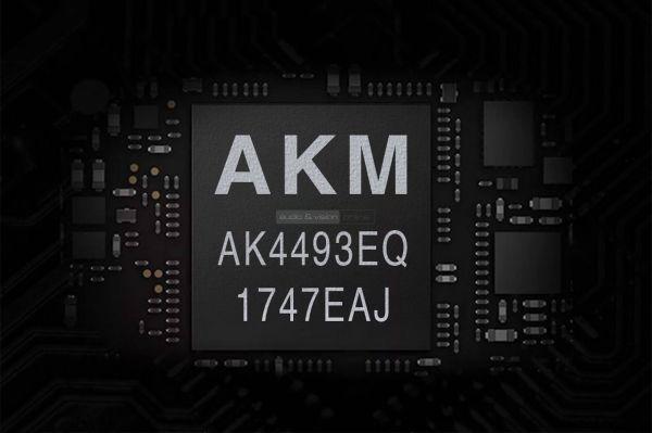 Lotoo PAW 6000 mobil zenelejátszó AKM AK4493EQ DAC