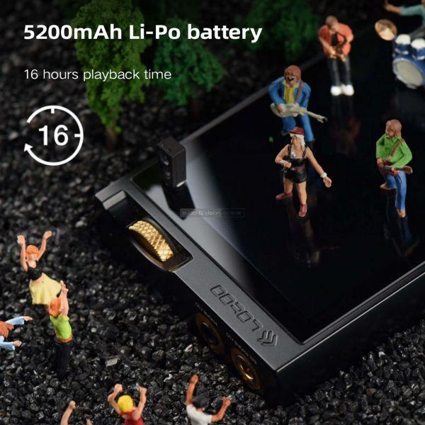 Lotoo PAW 6000 mobil zenelejátszó akkumulátor