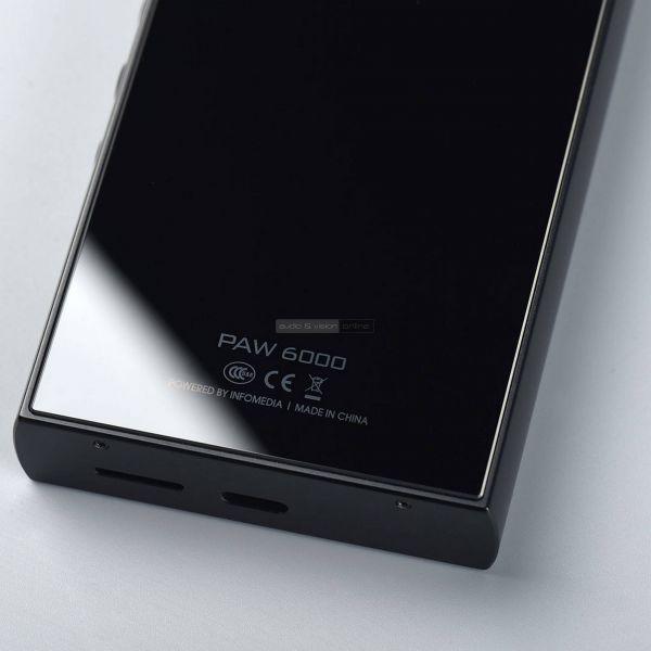 Lotoo PAW 6000 mobil zenelejátszó hátlap