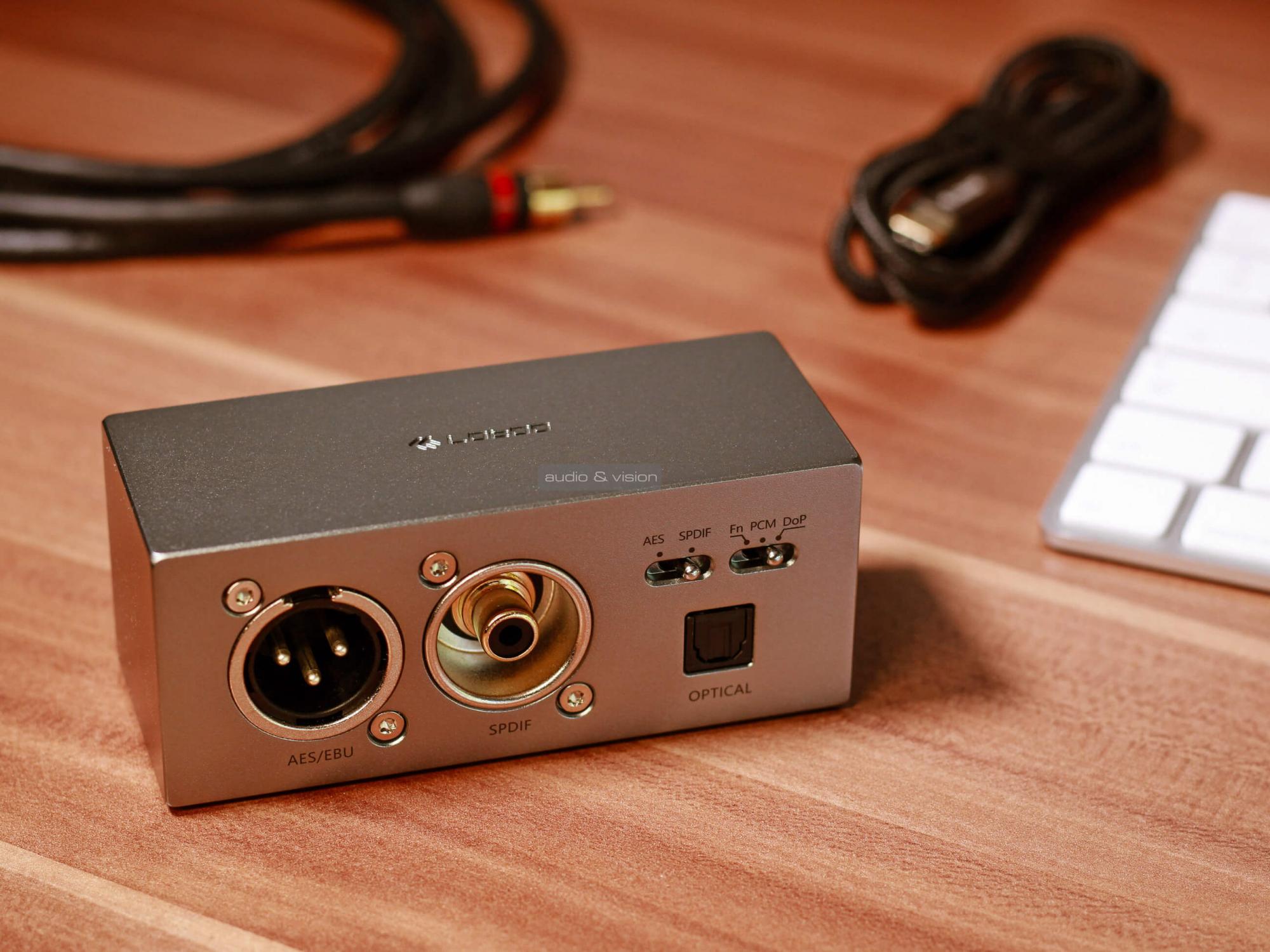Lotoo PAW D1 USB digitális audio interfész teszt