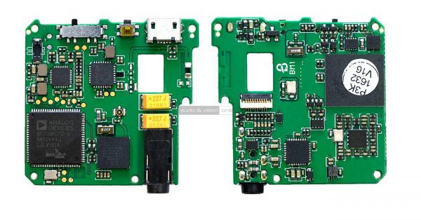Lotoo PAW Pico mobil zenelejátszó belső