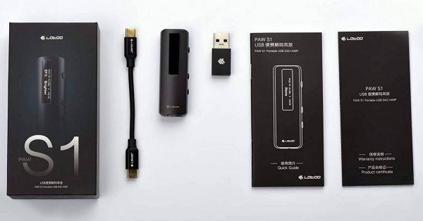 Lotoo PAW S1 USB DAC tartozékok