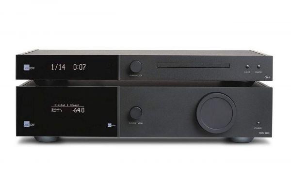 Lyngdorf Audio TDAI-2170 sztereó erősítő CD-2 CD-lejátszó