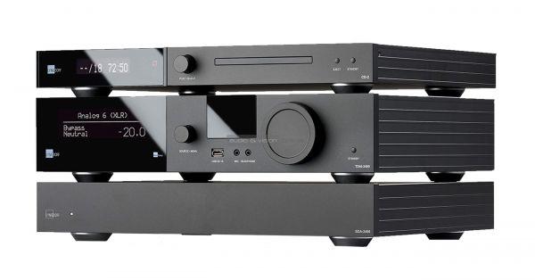 Lyngdorf Audio TDAI-3400 hifi rendszer