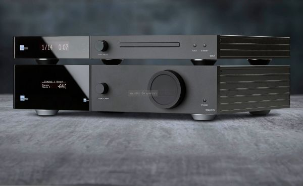 Lyngdrof Audio TDAI-3400 és CD-2 CD-játszó