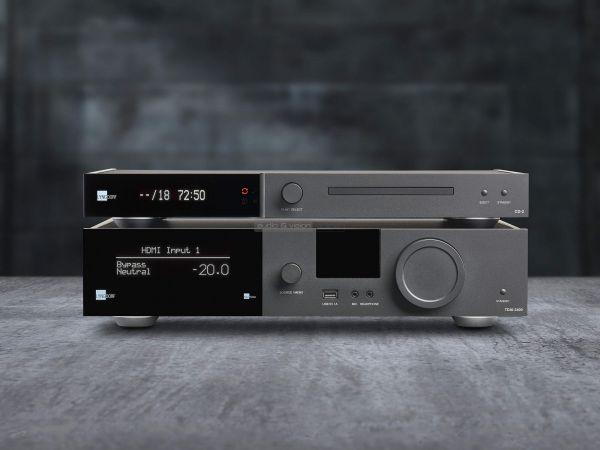 Lyngdrof Audio TDAI-3400 és CD-2 CD-lejátszó