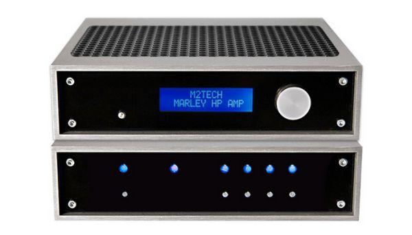 M2Tech Marley fejhallgató erősítő és Van der Graaf tápegység