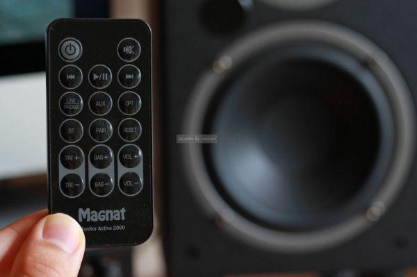Magnat Monitor Active 2000 aktív hangfal távvezérlő