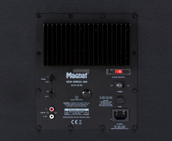 Magnat New Omega 380 aktív mélyláda hátlap