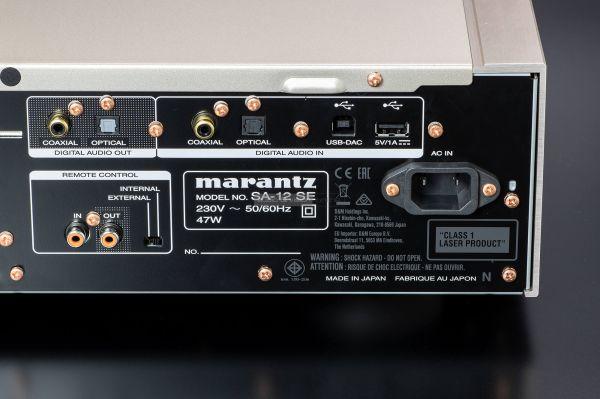 Marantz SA-12SE CD-lejátszó DAC input