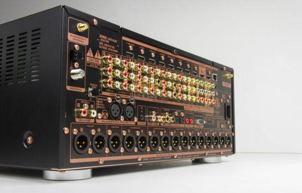 Marantz AV8802A Dolby Atmos házimozi processzor hátfal