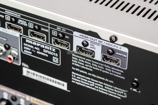 Marantz SR5015 házimozi erősítő 8K HDMI