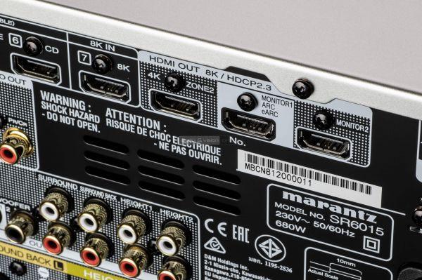 Marantz SR6015 házimozi erősítő 8K HDMI