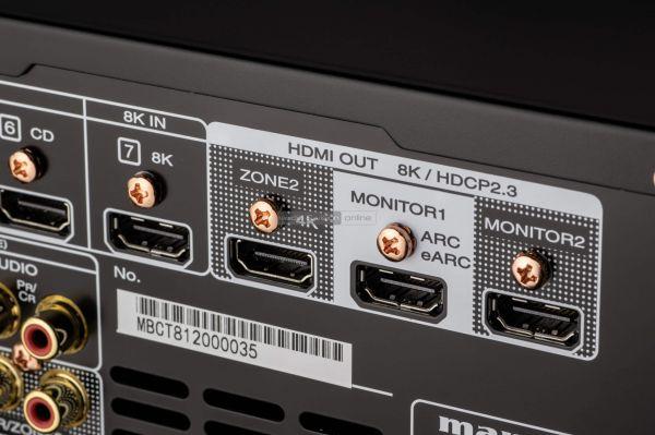 Marantz SR7015 házimozi erősítő 8K HDMI