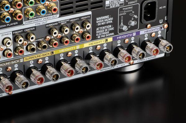 Marantz SR7015 házimozi erősítő hangfal csatlakozó
