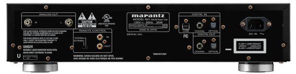 Marantz SA-KI Pearl Lite SACD/CD-lejátszó hátlap
