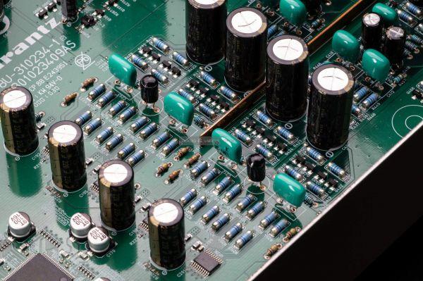 Marantz SACD 30n CD-lejátszó Melf resistors