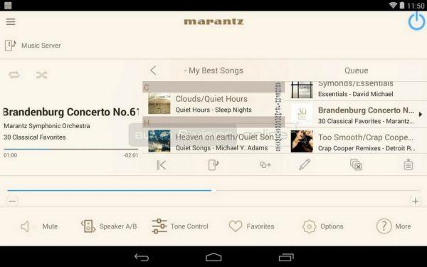 Marantz HiFi Remote App
