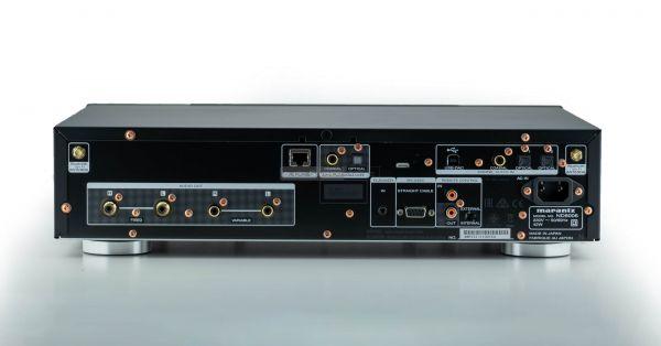 Marantz ND8006 hálózati CD-lejátszó hátlap