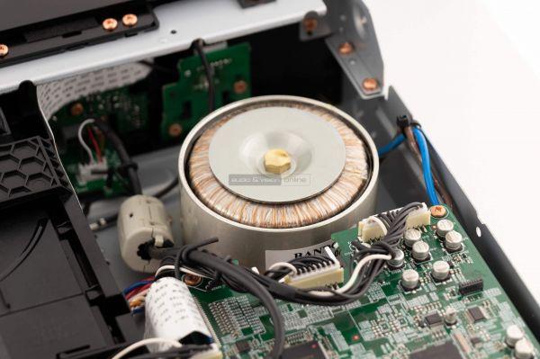 Marantz ND8006 hálózati CD-lejátszó belső