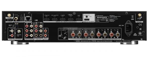 Marantz NR1200 hálózati sztereó rádióerősítő hátlap