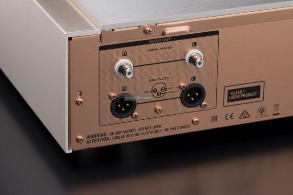 Marantz SA-10 CD-lejátszó analóg csatlakozók