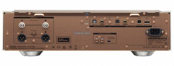 Marantz SA-10 CD-lejátszó hátlap