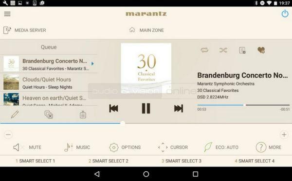 Marantz 2016 AVR Remote App