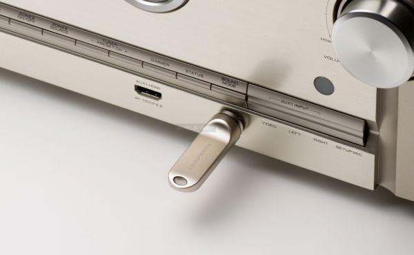 Marantz SR5011 házimozi erősítő front USB