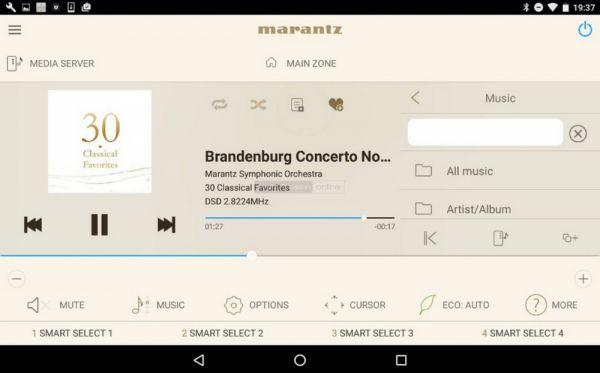 Marantz AVR 2016 Remote App