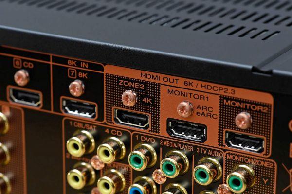 Marantz SR8015 házimozi erősítő 8K HDMI
