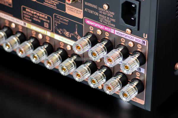 Marantz SR8015 házimozi erősítő hangfal csatlakozó
