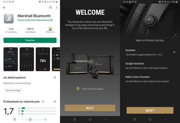 Marshall Monitor II ANC App