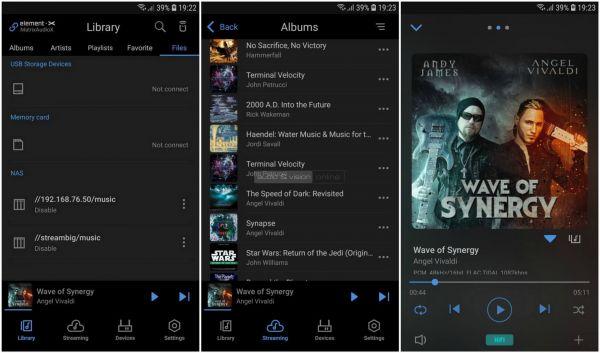 Matrix Audio element X App