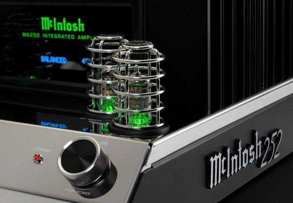 McIntosh MA252 hibrid csöves sztereó erősítő