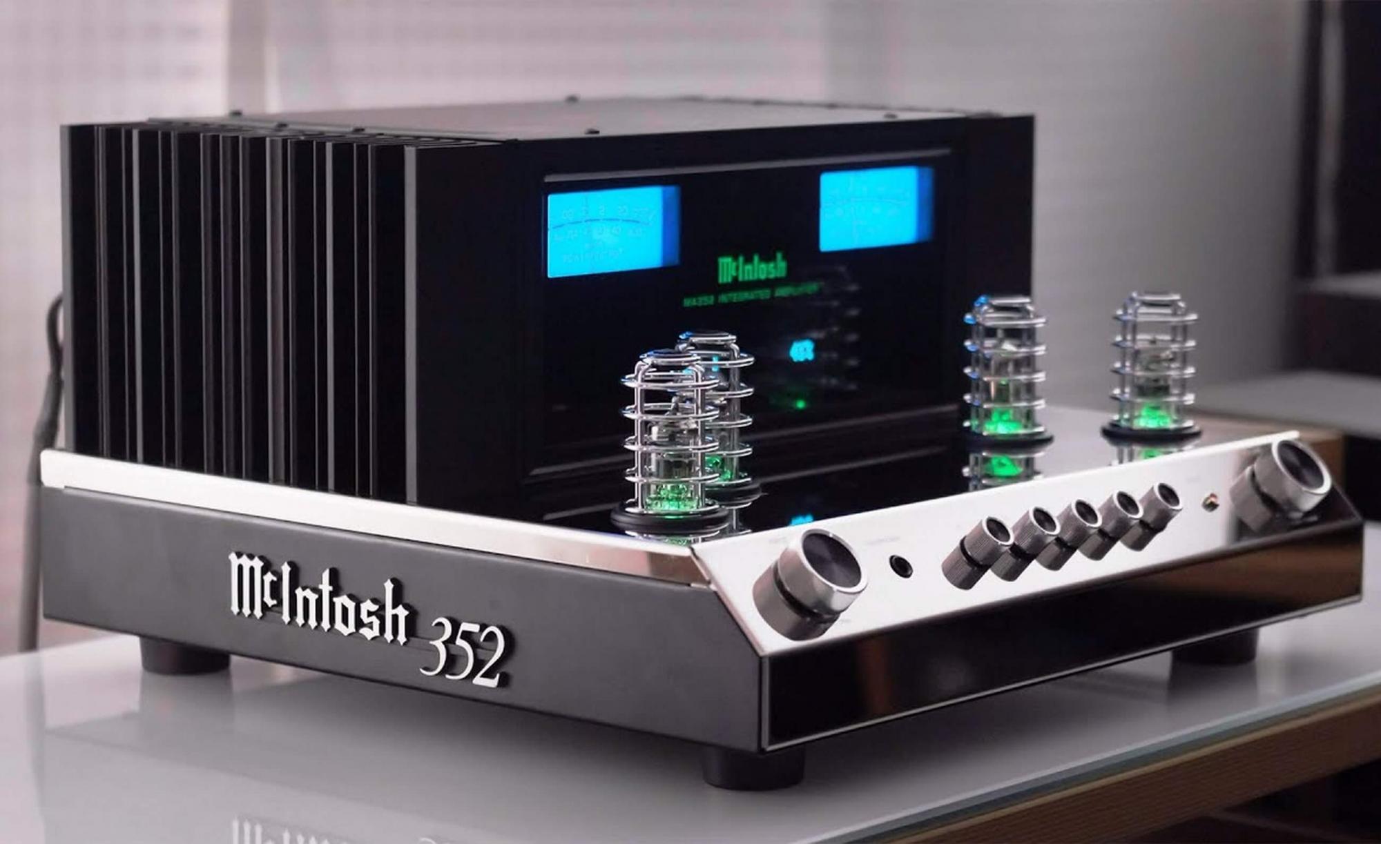 McIntosh MA352 hibrid integrált sztereó erősítő teszt